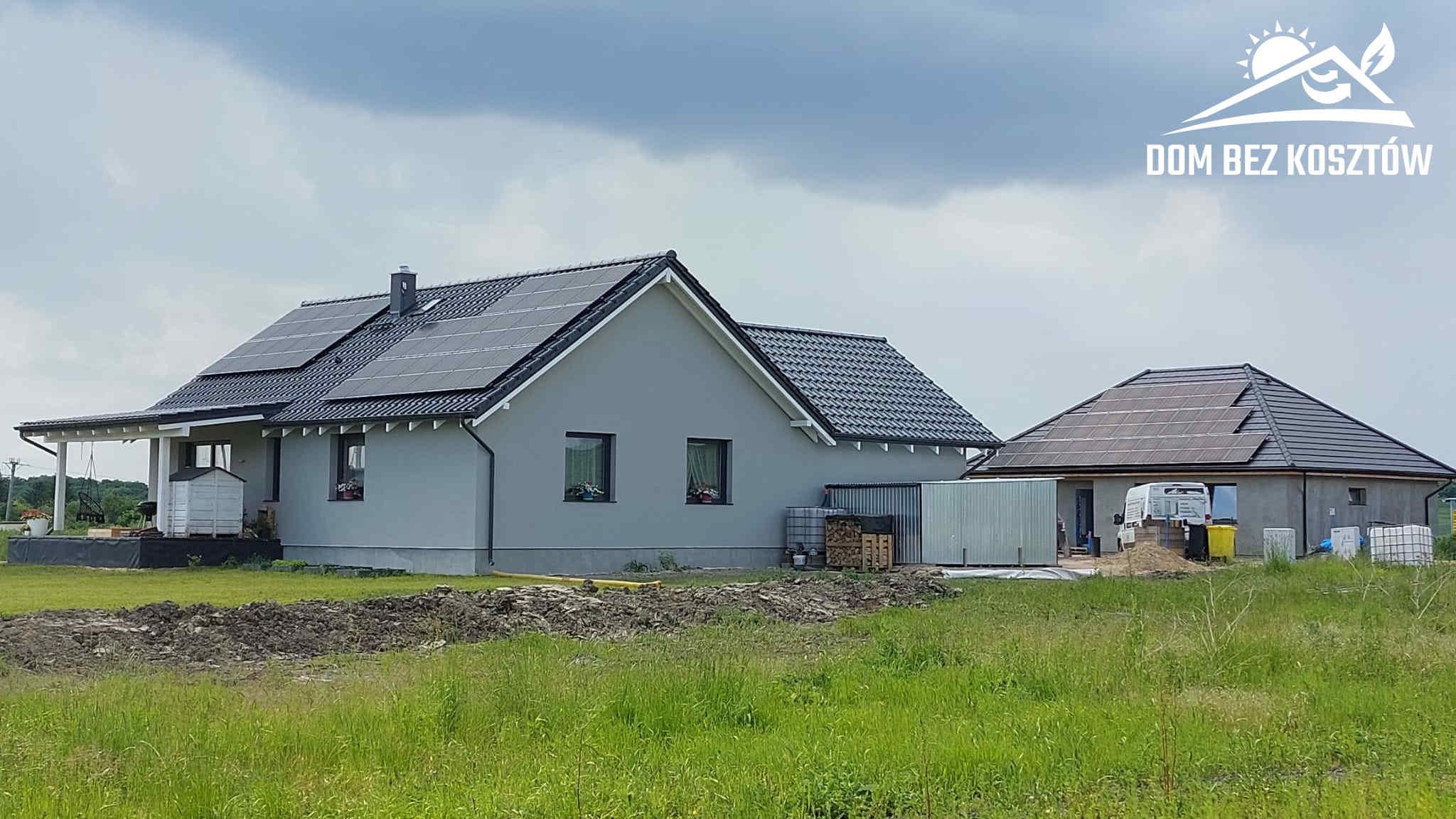 Instalacja Fotowoltaiczna o mocy 9,7 kWp na dachu domu jednorodzinnego w Gniewie